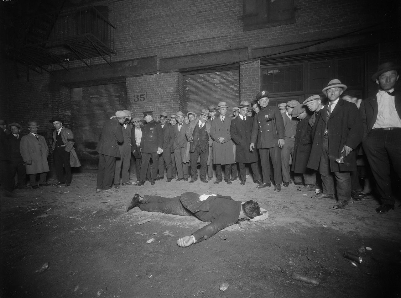nypd crime photography murder in new york