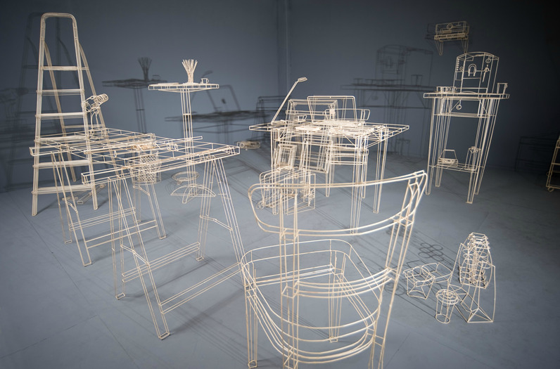 wireframe objects 2-3
