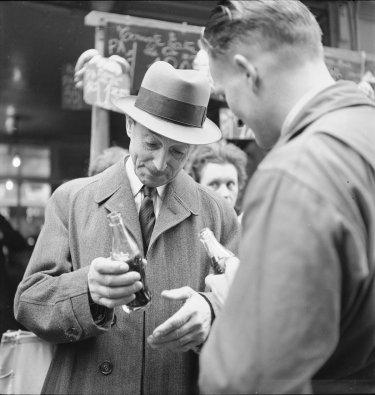 La llegada de coca cola a francia en imagenes