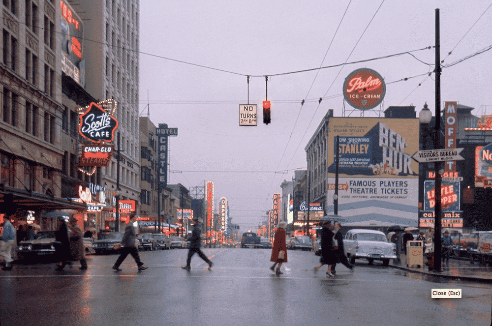 calle de new york, fotografía de Fred Herzog