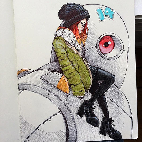 Norio Fujikawa illustration 4