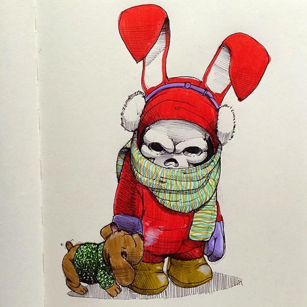 Norio Fujikawa illustration 5