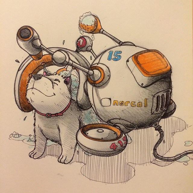 Norio Fujikawa illustration 9