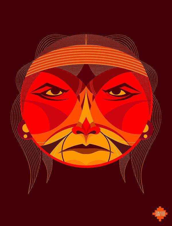 ancestros latinoamericanos ilustracion 2