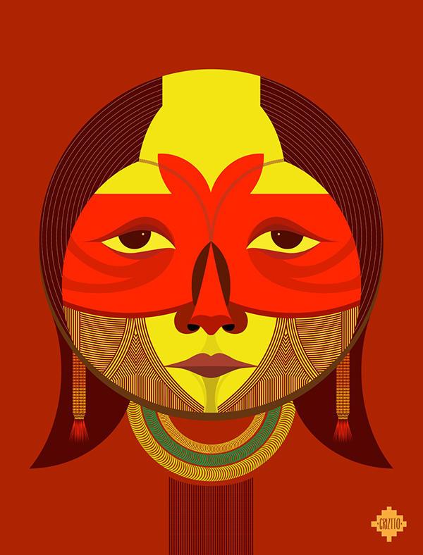 ancestros latinoamericanos ilustracion 3