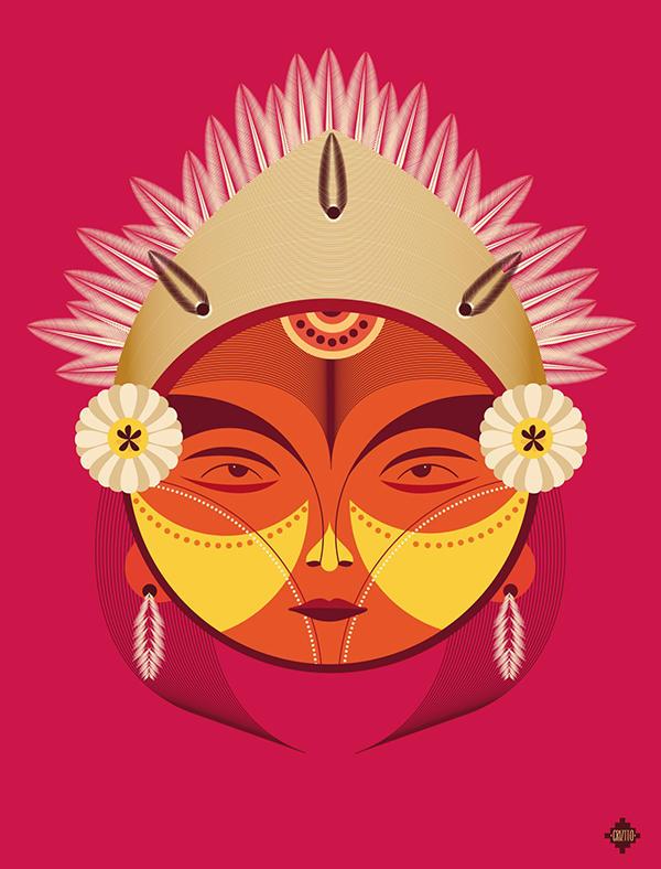 ancestros latinoamericanos ilustracion 5