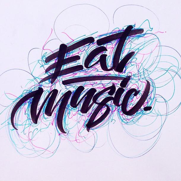 david milan lettering 5