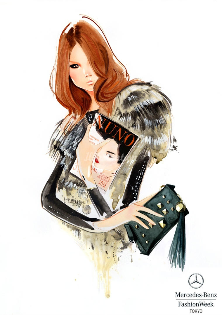 nuno da costa fashion illustration 2