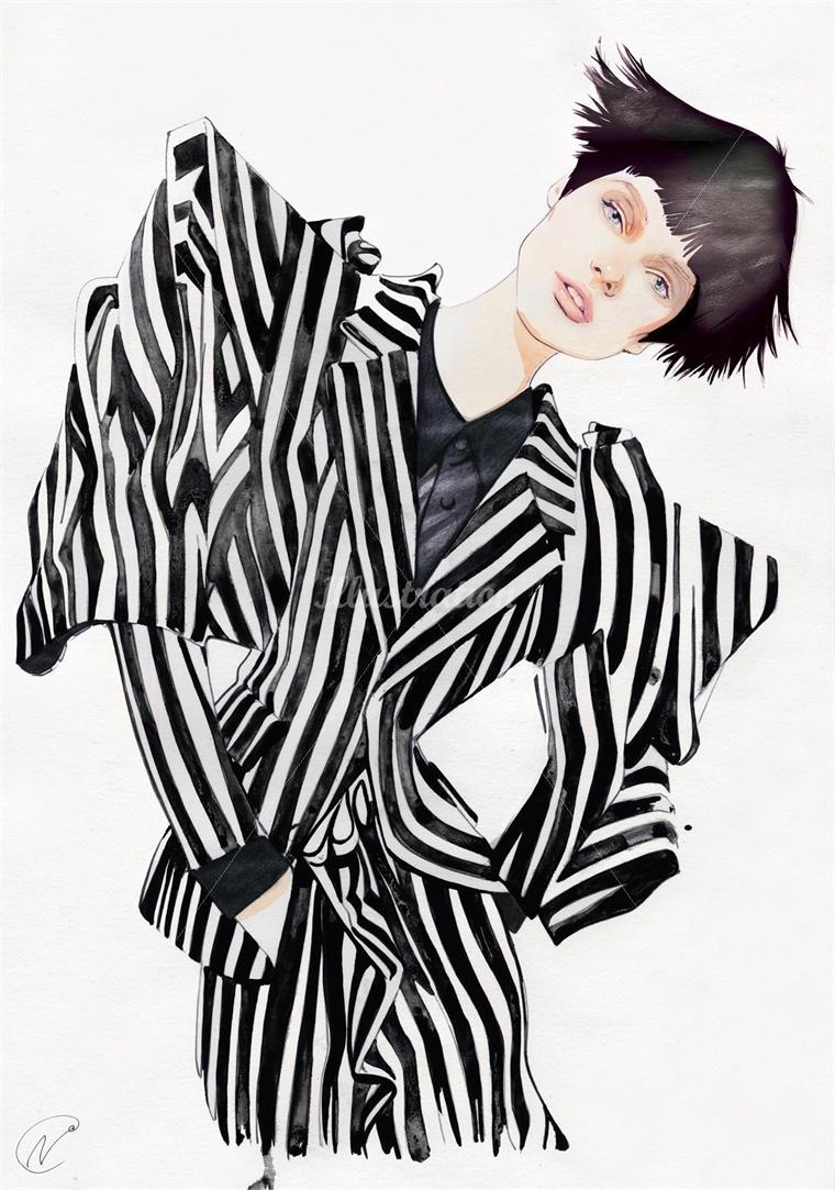 nuno da costa fashion illustration 3-1