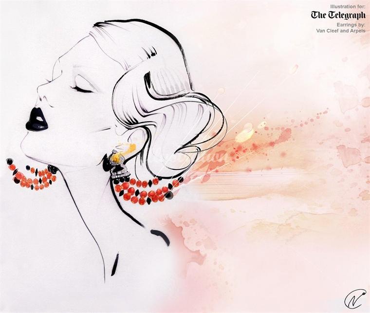 nuno da costa fashion illustration 7