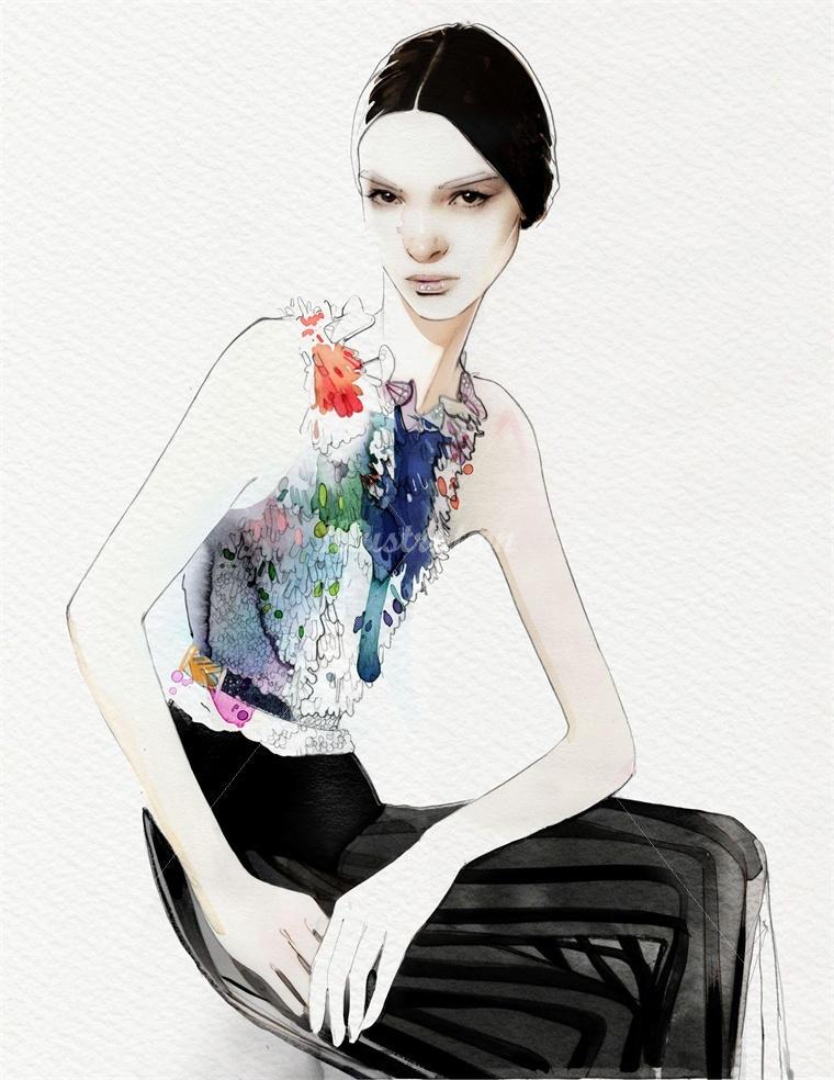 nuno da costa fashion illustration 9