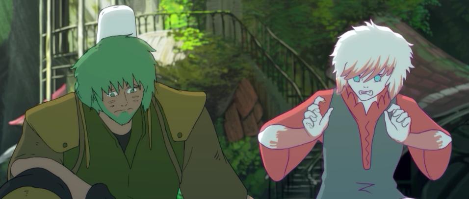 Un bonito homenaje a hayao miyazaki