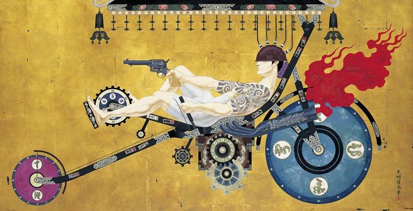 tenmyouya hisashi japanese painting 6