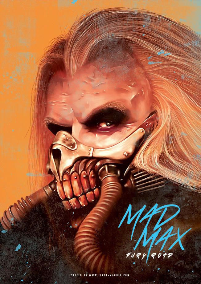 Cartel poster de la pelicula mad max fury road