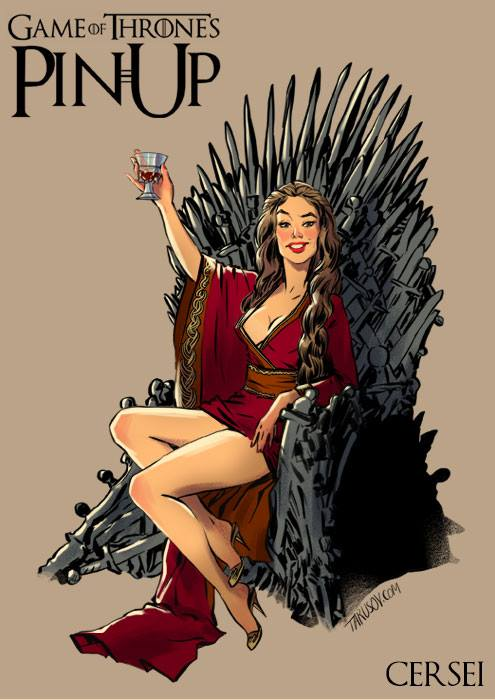 Game of Thrones pin up girls 1