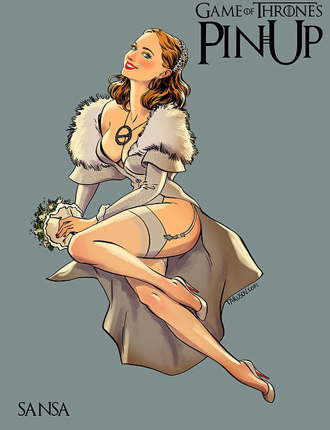 Game of Thrones pin up girls 4