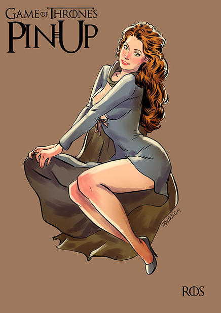Game of Thrones pin up girls 8