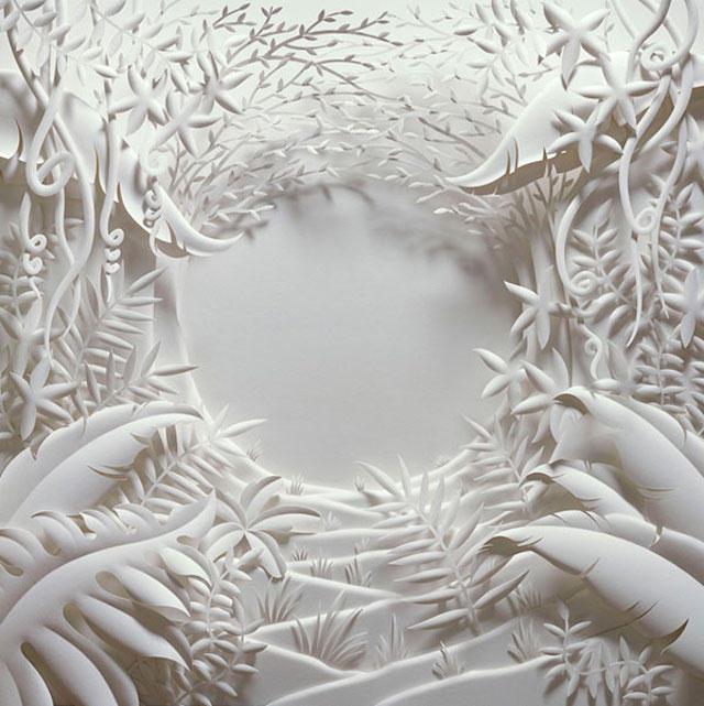 Jeff Nishinaka paper art sculpture oldskull 9