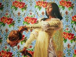 Pintura afroamericana actual