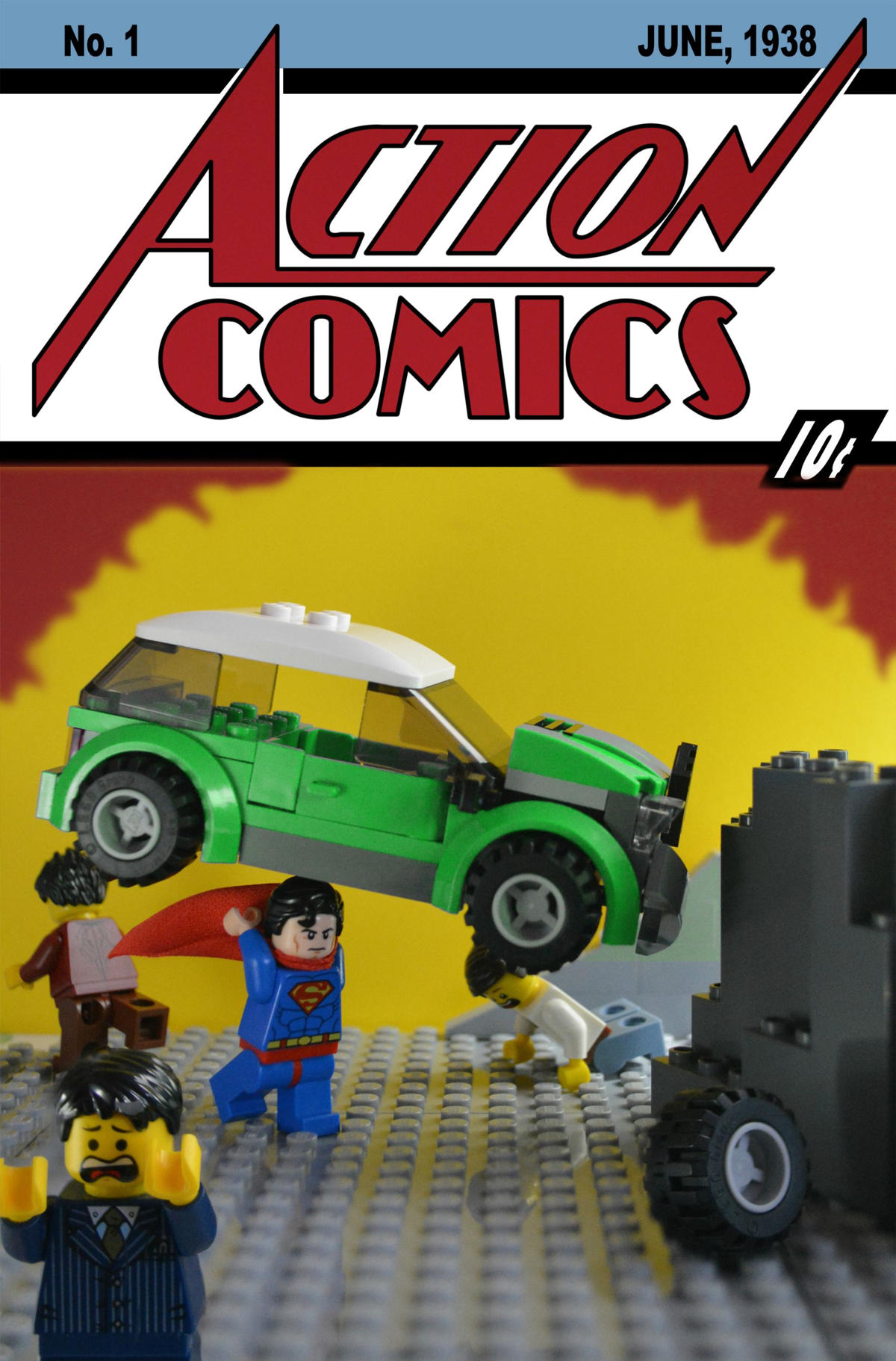 action comics 1 lego