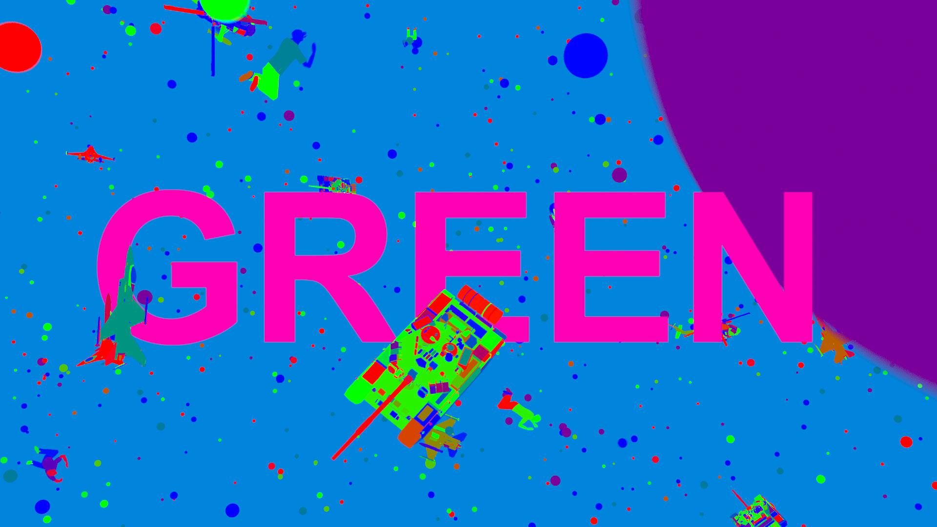 green azel phara video
