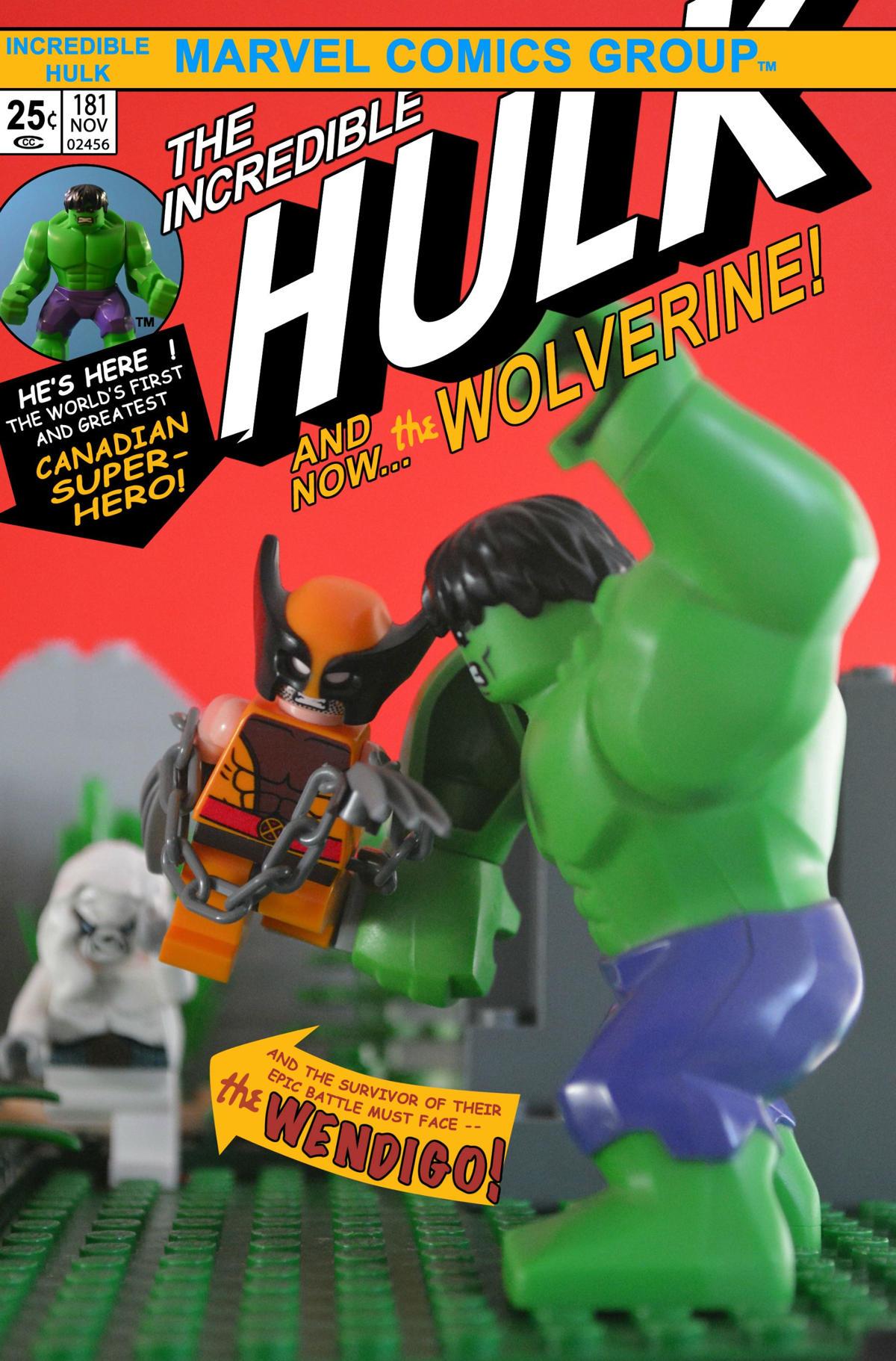 hulk 181 comic lego