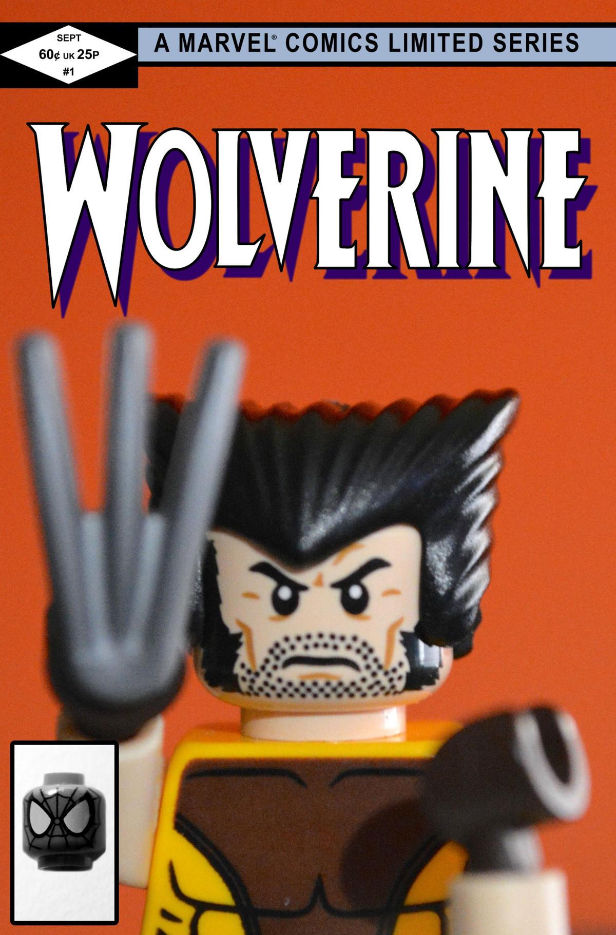 wolverine 1 comic lego