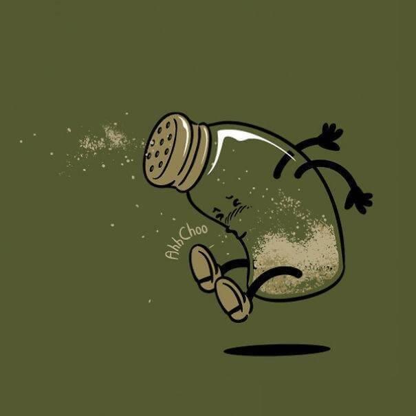 food and drink life illustration oldskull 12