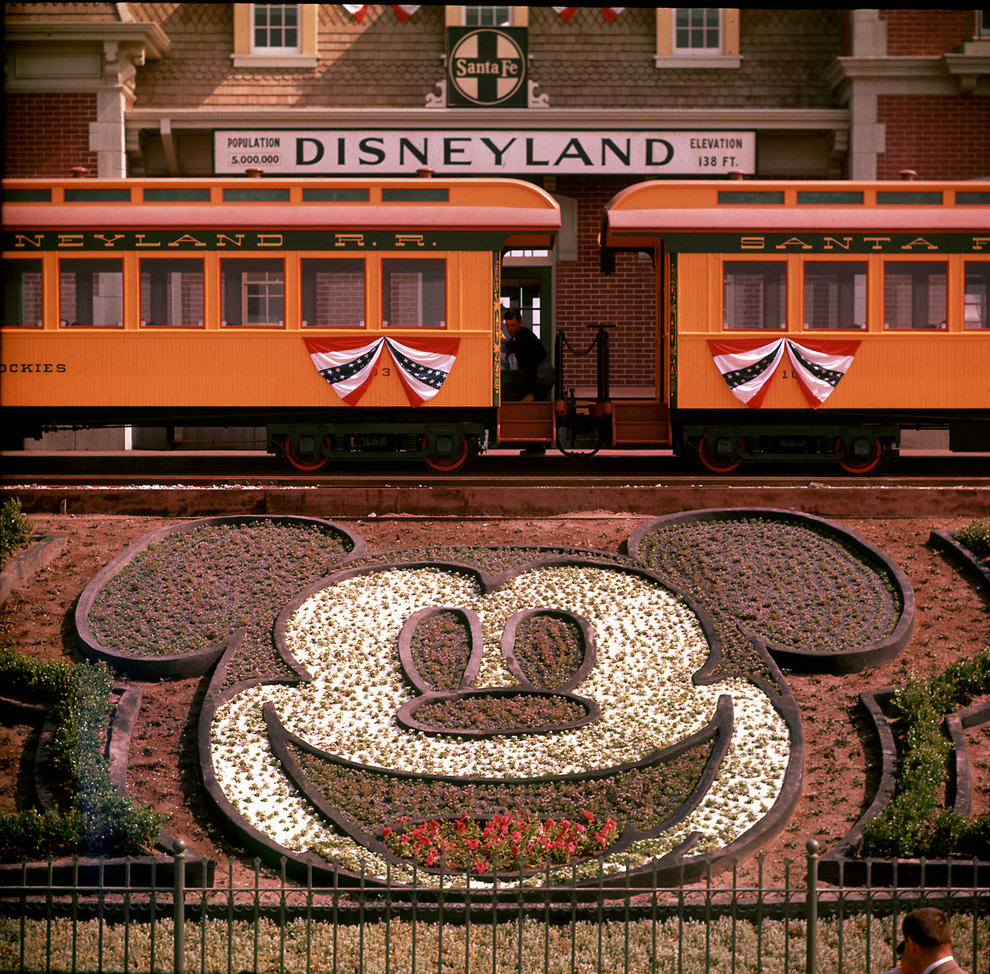 Disneyland photography in 1955 (3)