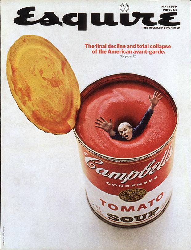 Portada de la revista Esquire - Tomato Campbell