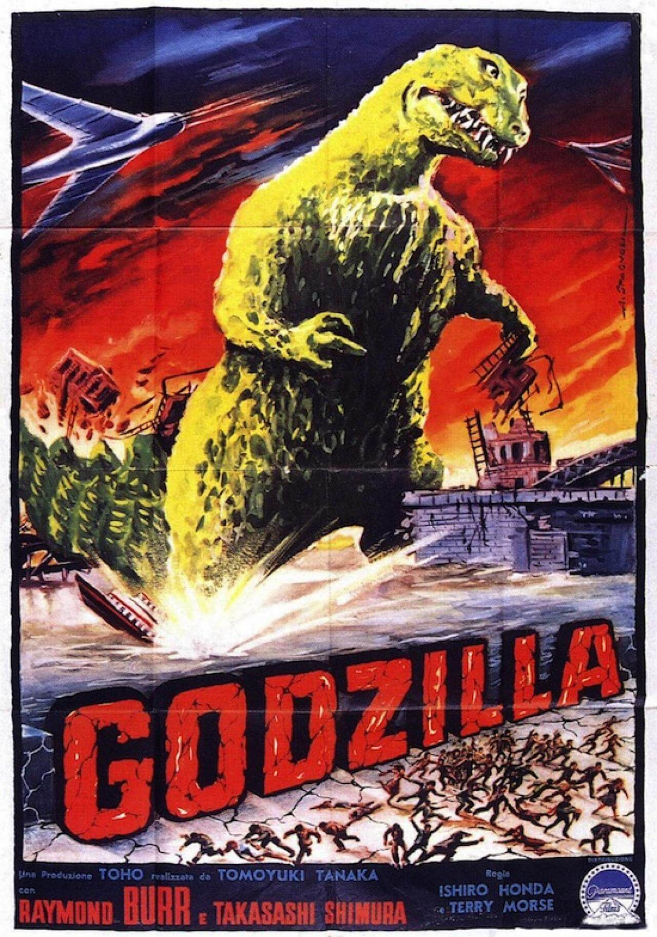 Godzilla rare awesome posterts oldskull 5-2