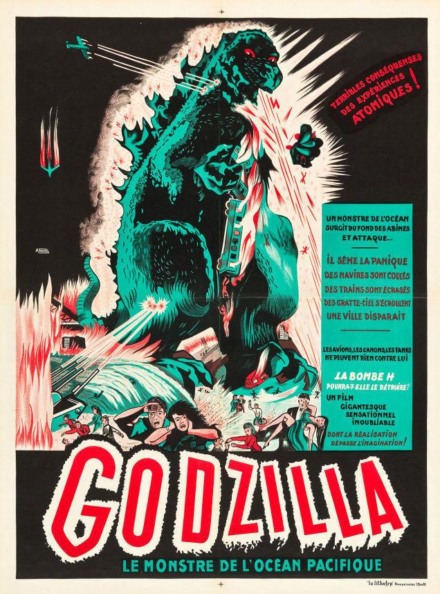 Godzilla rare awesome posterts oldskull 7
