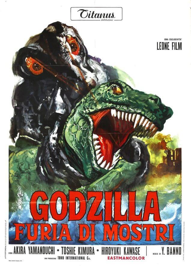 Godzilla rare awesome posterts oldskull 9