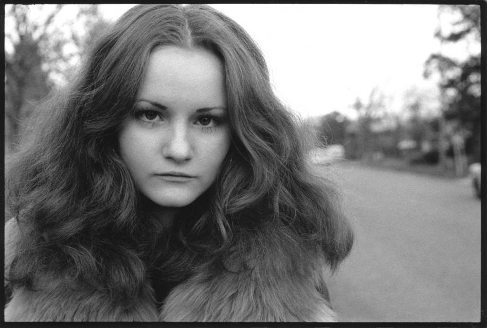Retrato de una chica hecho por Joseph Szabo