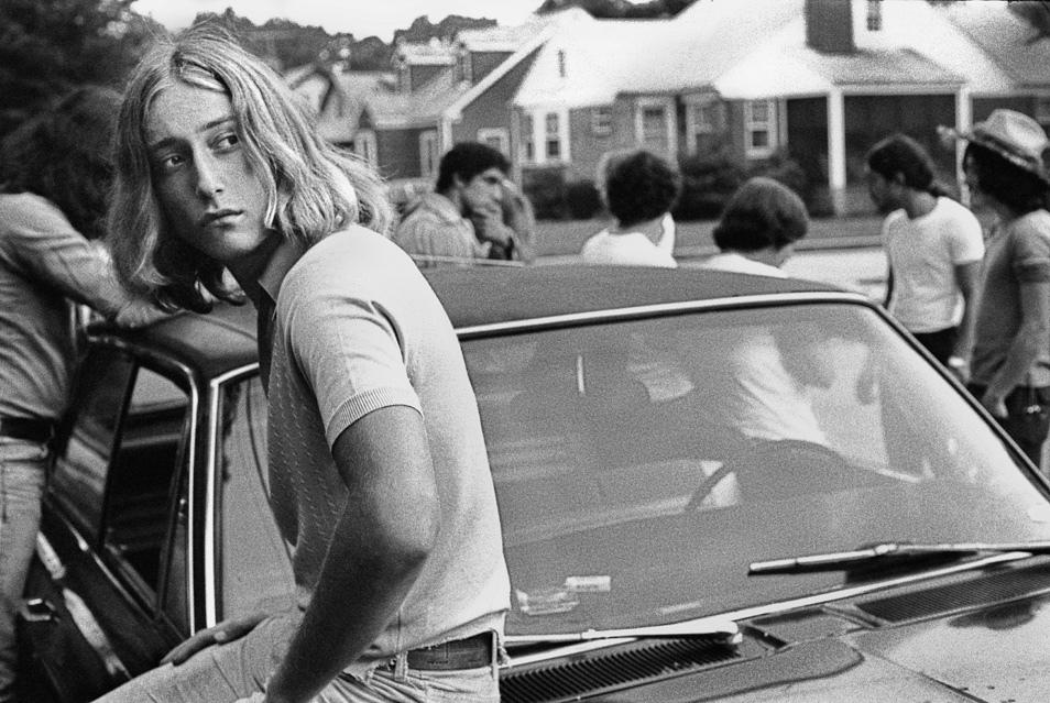 Foto de joven universitario de los años 60 hecha por Joseph Szabo