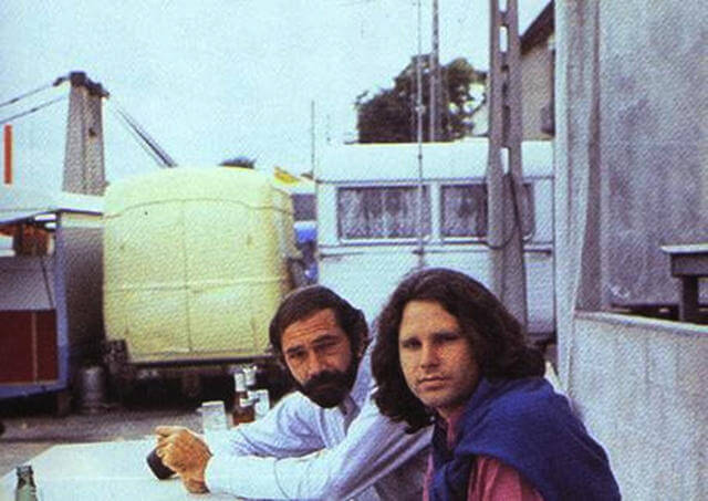Last Known Photos of Jim Morrison in Paris on June 28, 1971(8) oldskull