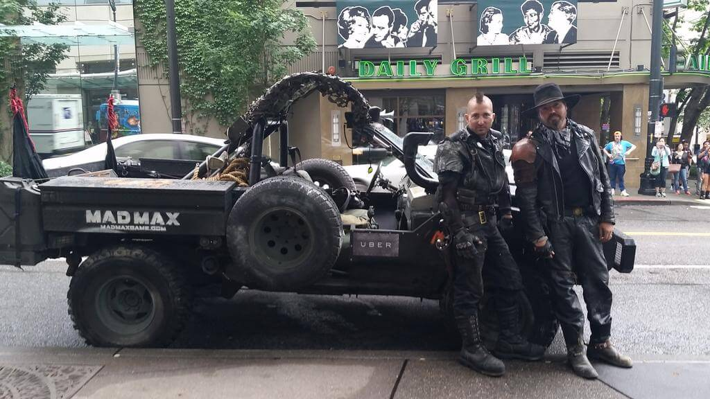 Mad Max Uber Service in Seattle 1