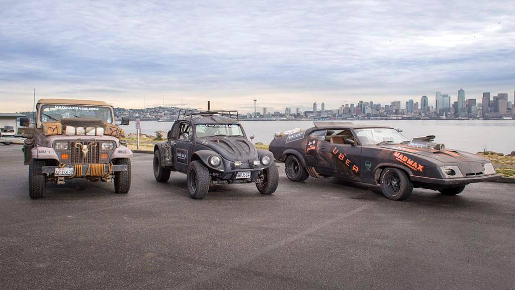 Mad Max Uber Service in Seattle 6