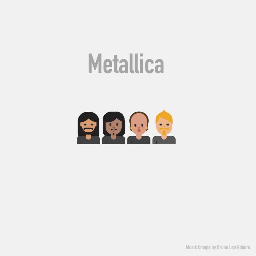 emojis de metallica