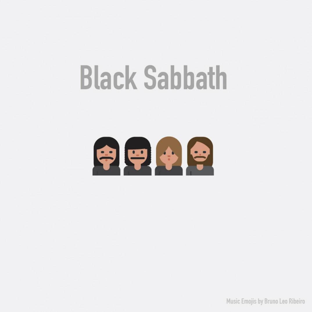 emojis de black sabbath