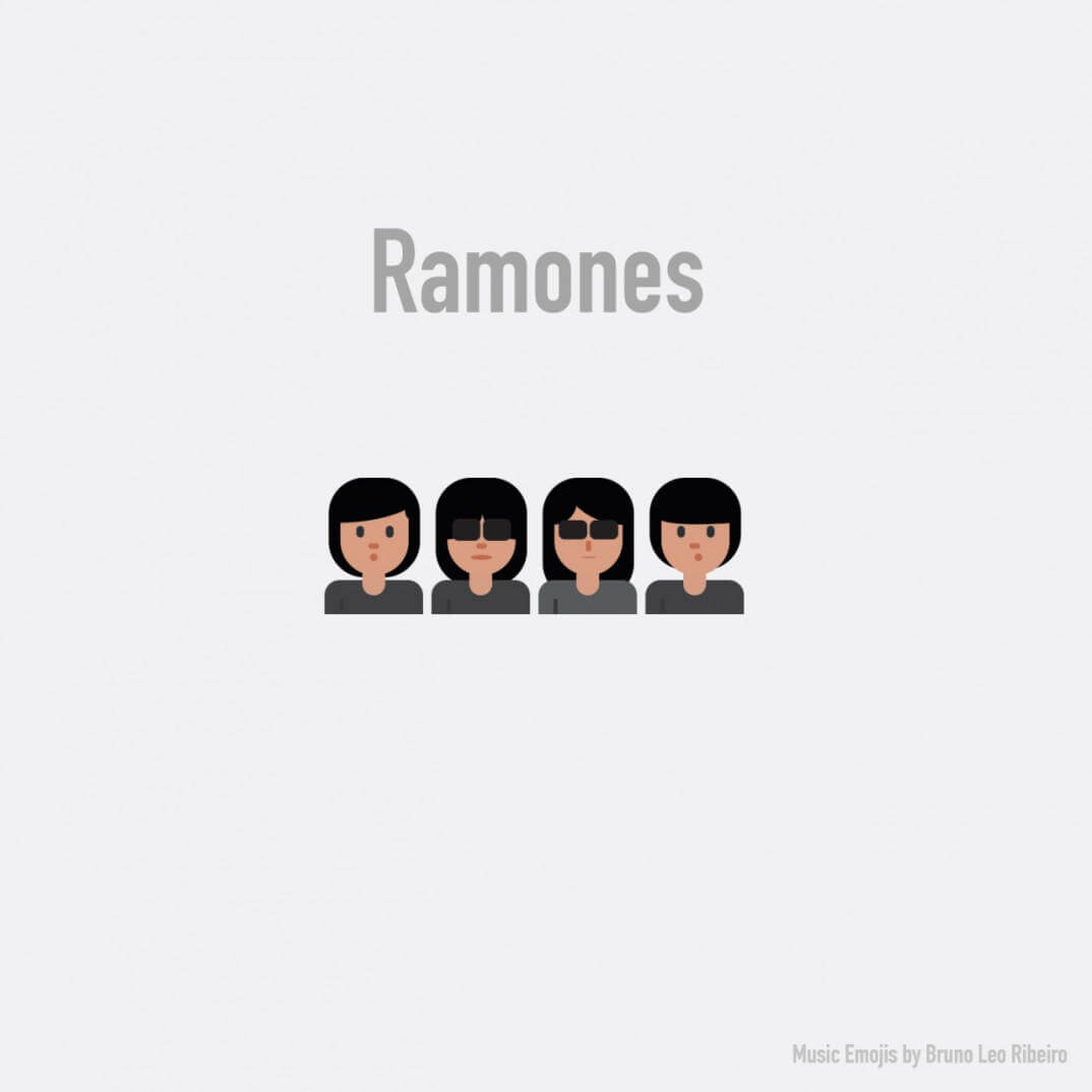 Emojis de Ramones