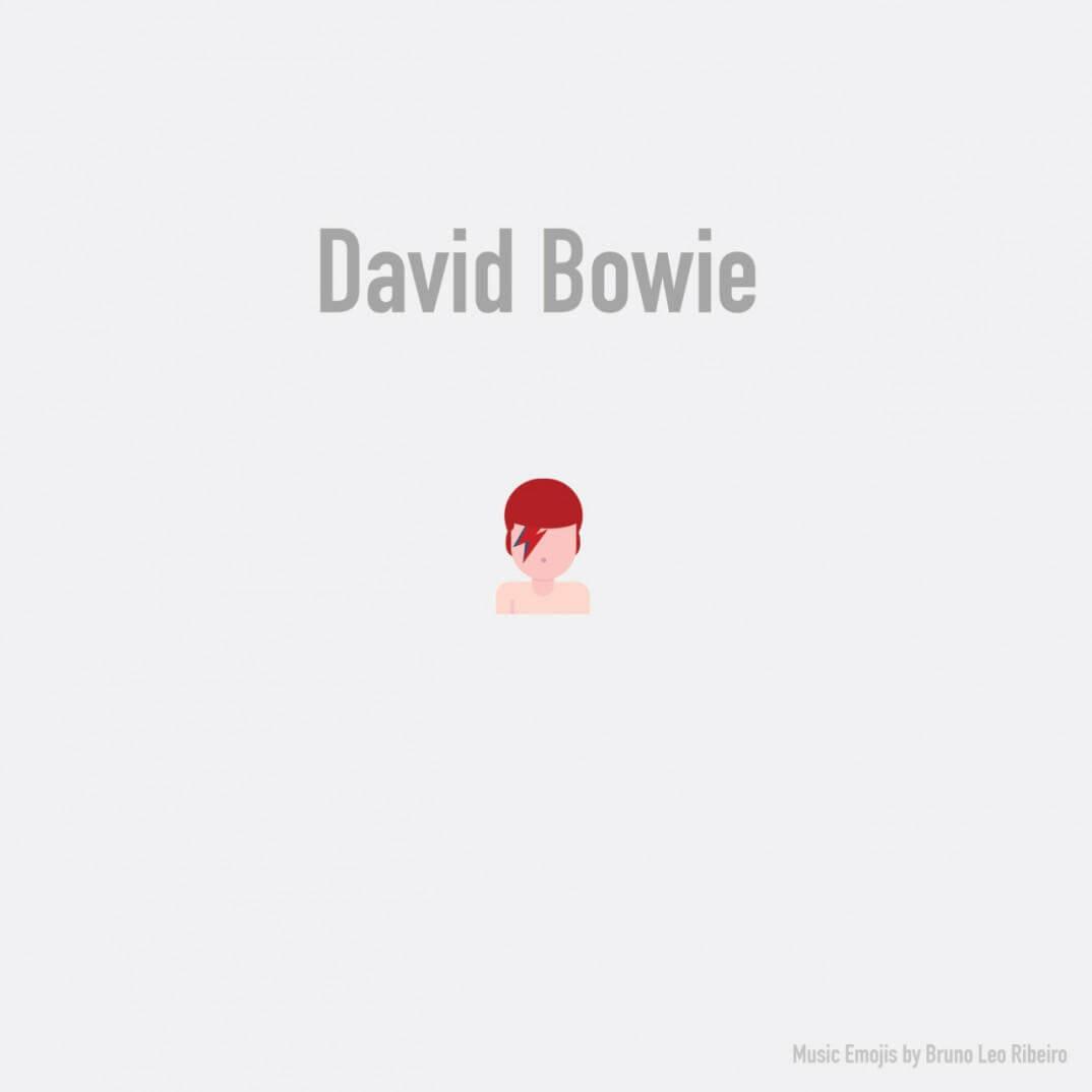 emoji de david bowie