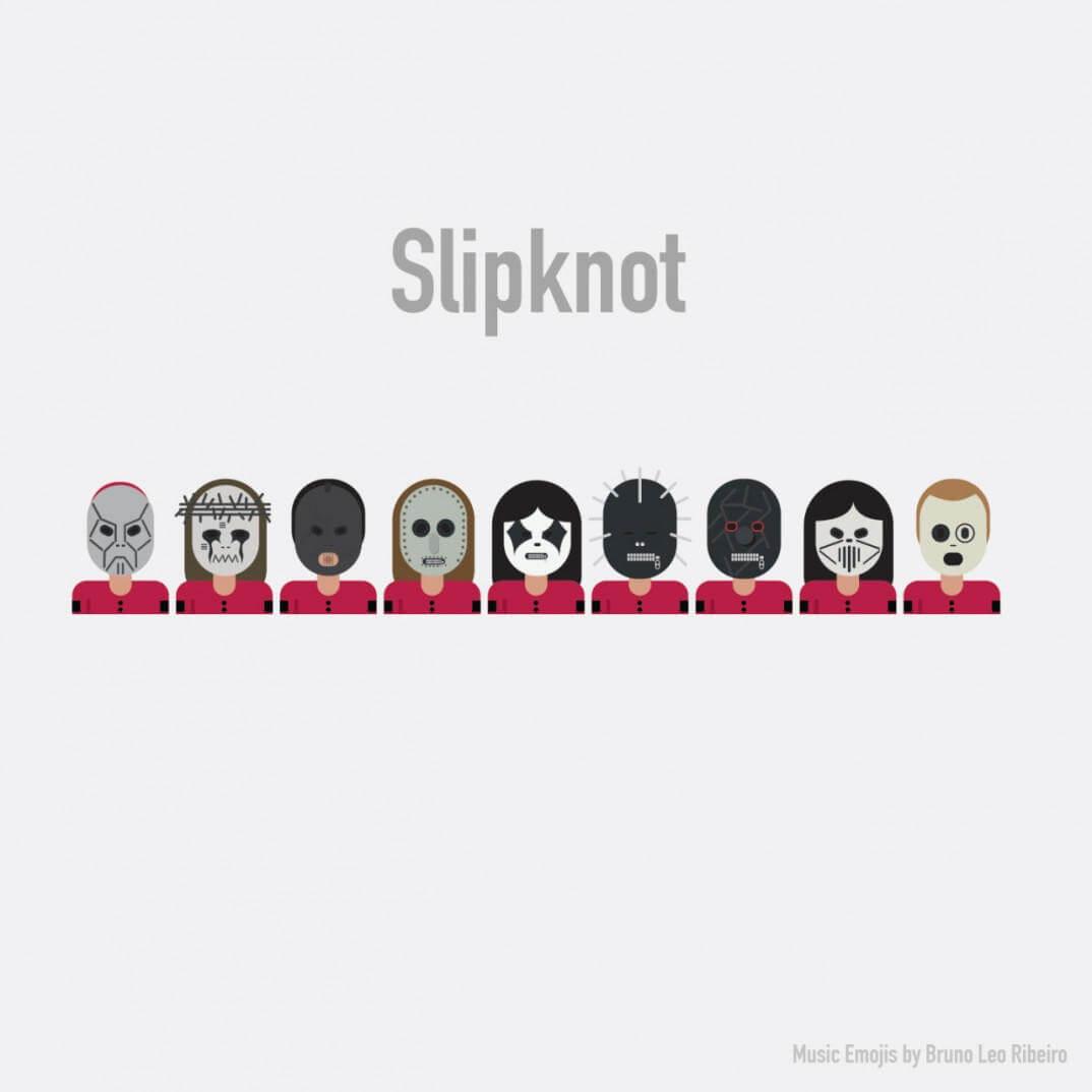 emojis de slipknot