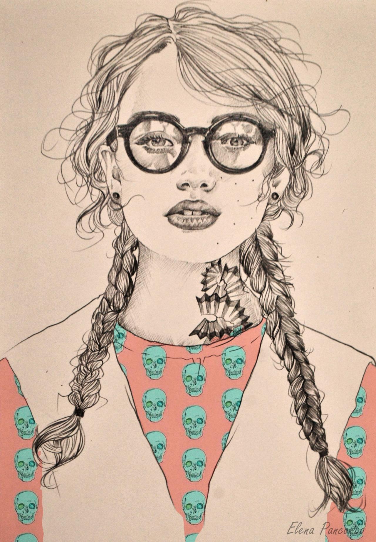 elena pancorbo ilustracion oldskull 7