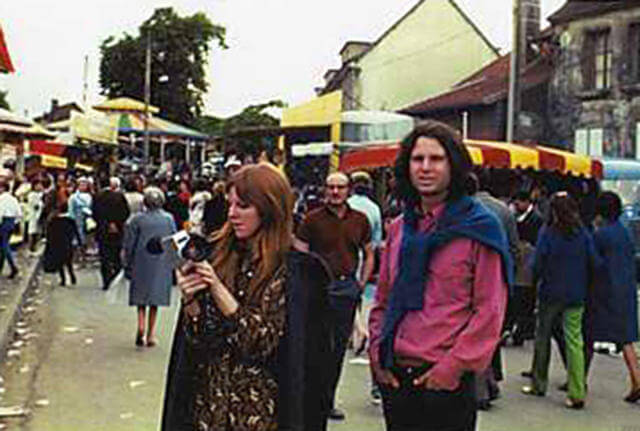oldskull Last Known Photos of Jim Morrison in Paris on June 28, 1971(1)