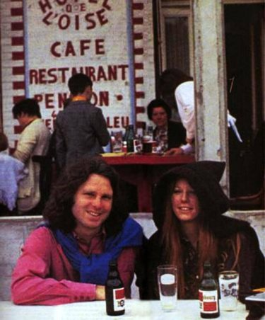 Ultimas fotografías de jim morrison en paris