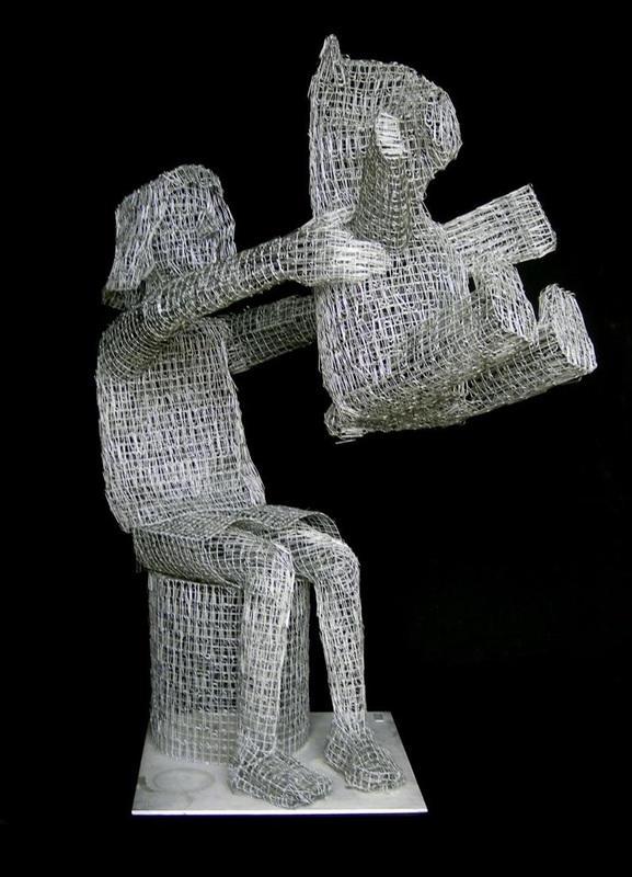 pietro_dangelo_sculptures-oldskull-CLIPS-STAPLES-8