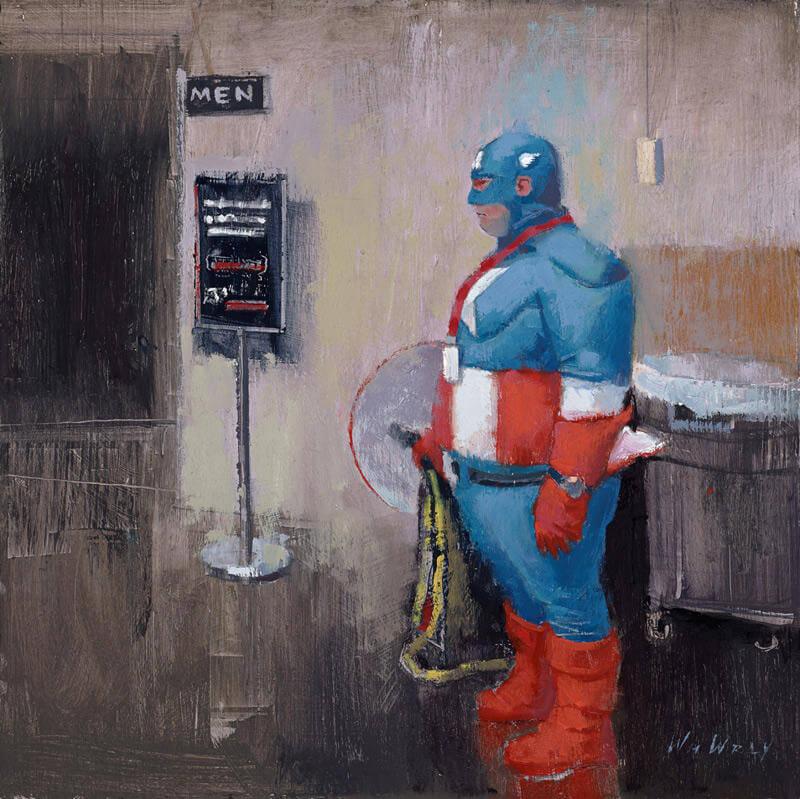 william wray paintings oldskull 7