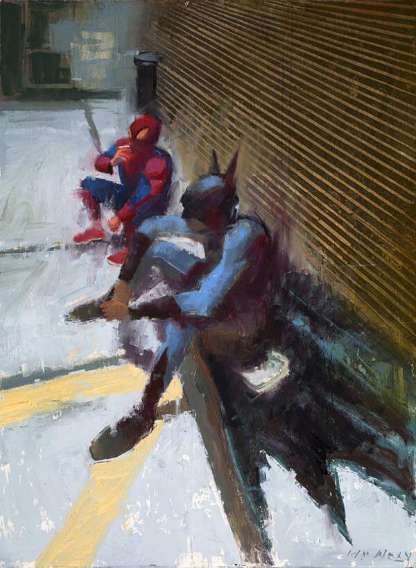 william wray paintings oldskull 9
