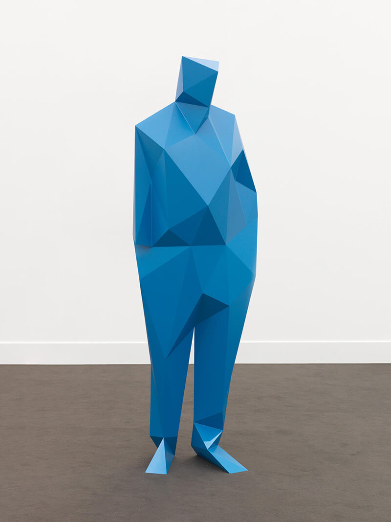 Faceted Sculptures by Xavier Veilhan - 05